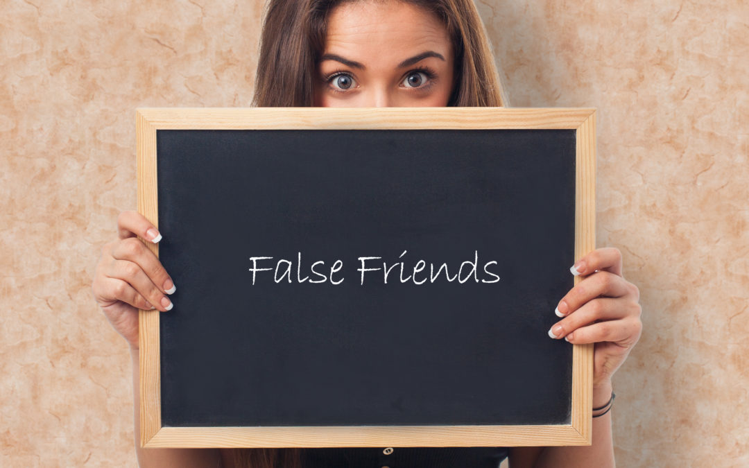 'False Friends': palabras en inglés que te traicionan (II)